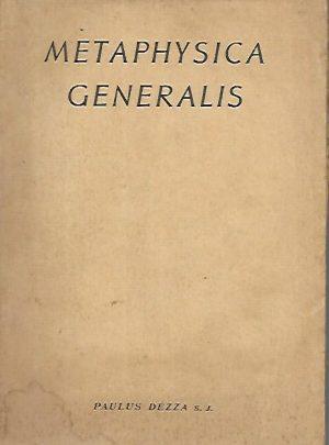Metaphysica Generalis