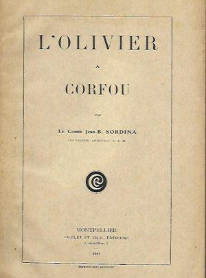L' olivier a Corfou