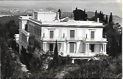 Achilleion aspect oriental Corfou