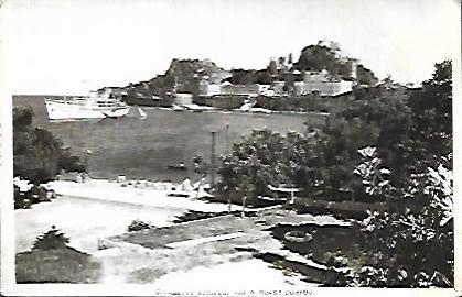 Citadelle ancienne vue d' ouest Corfou