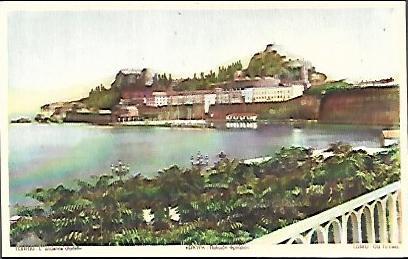 Corfou – L' ancienne citadelle