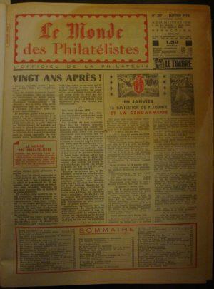 Le Monde des Philatelistes