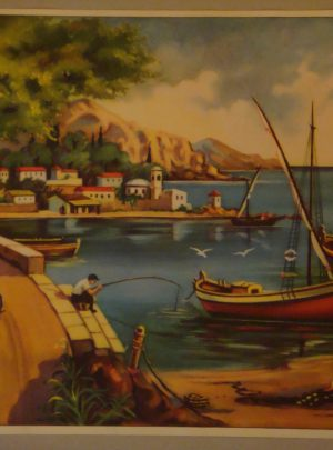 Ψαράδες στο λιμάνι